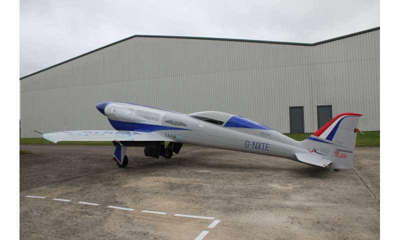 Rolls-Royce concludes testing of plane technology set to break electric speed record