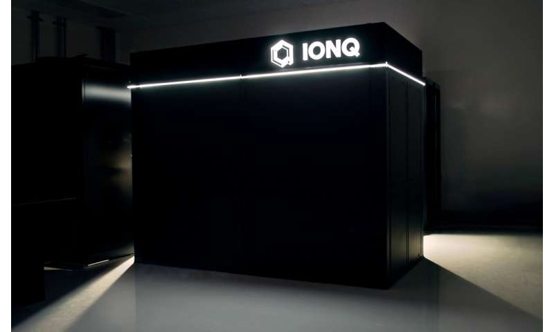 IonQ announces development of next generation quantum computer claiming it is the most powerful to date
