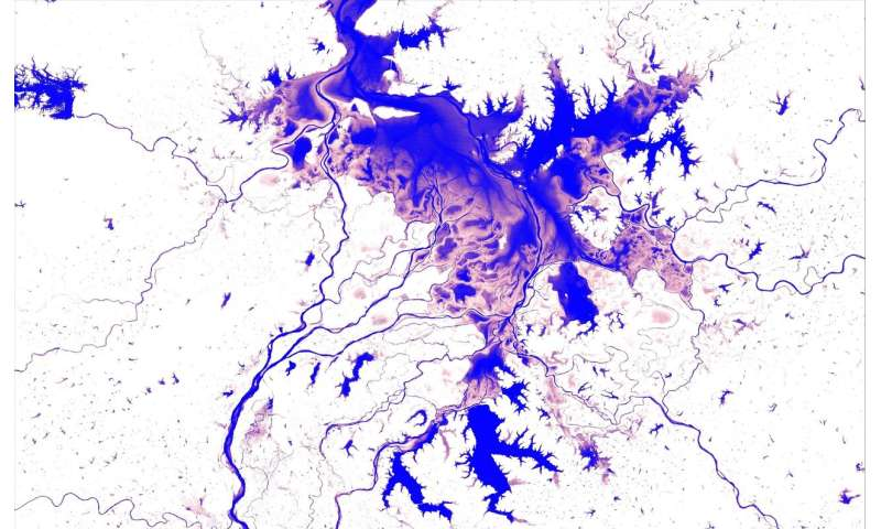 First-of-its-kind surface water Atlas brings together 35 years of satellite data