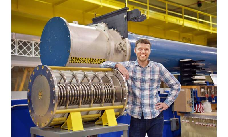Record neutron numbers at Sandia Labs' Z machine fusion experiments