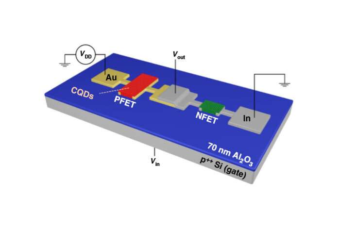 Breakthrough quantum-dot transistors create a flexible alternative to conventional electronics