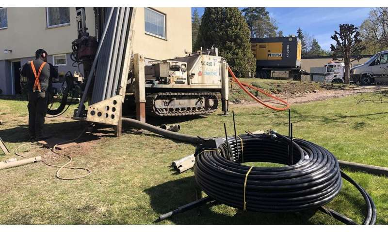 Talc improves pipe performance in geothermal heat pump systems
