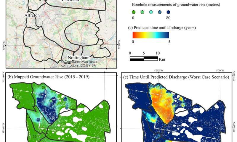 New tool predicts geological movement and the flow of groundwater in old coalfields