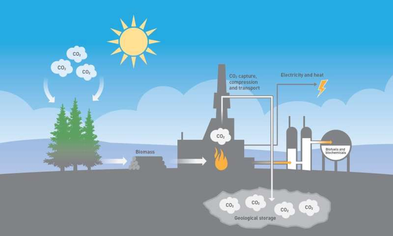 CCS during waste incineration removes CO2 from the atmosphere