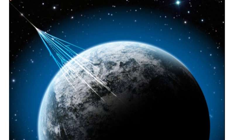 A possible way to measure ancient rate of cosmic ray strikes using 'paleo-detectors'