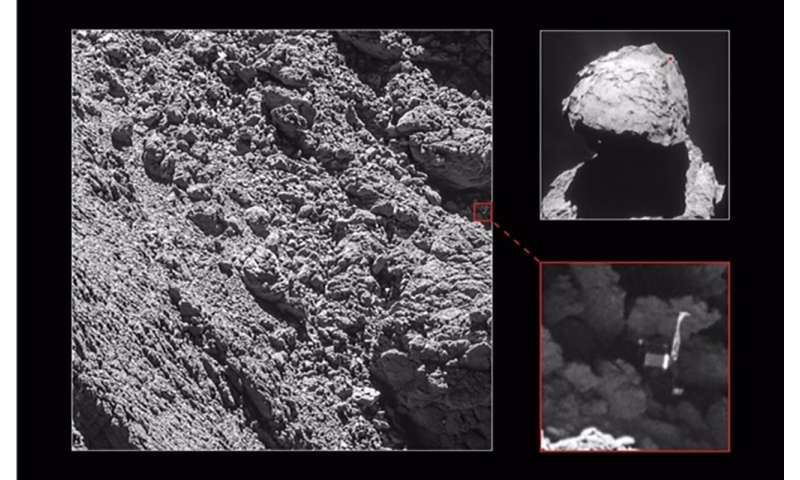 """4.5-billion-year-old ice on comet """"fluffier than cappuccino froth"""""""