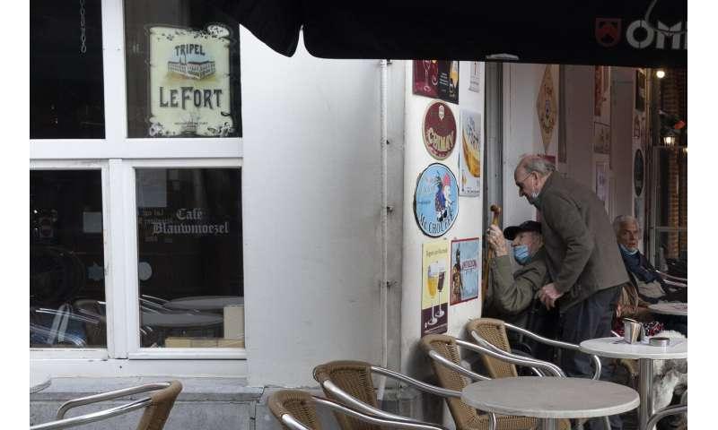 "Belgium fears virus ""tsunami"" as virus cases keep soaring"