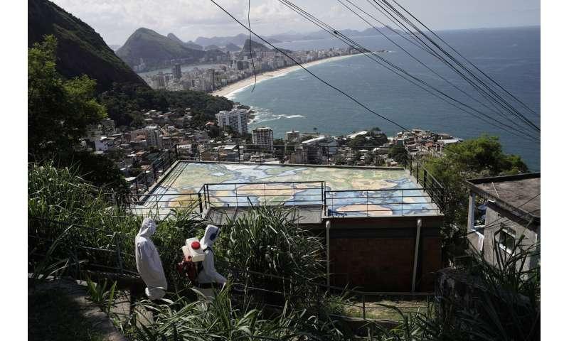 Brazil virus despair stretches from Rio to Amazon