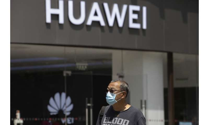 China's Huawei launches ad blitz as UK reconsiders its role