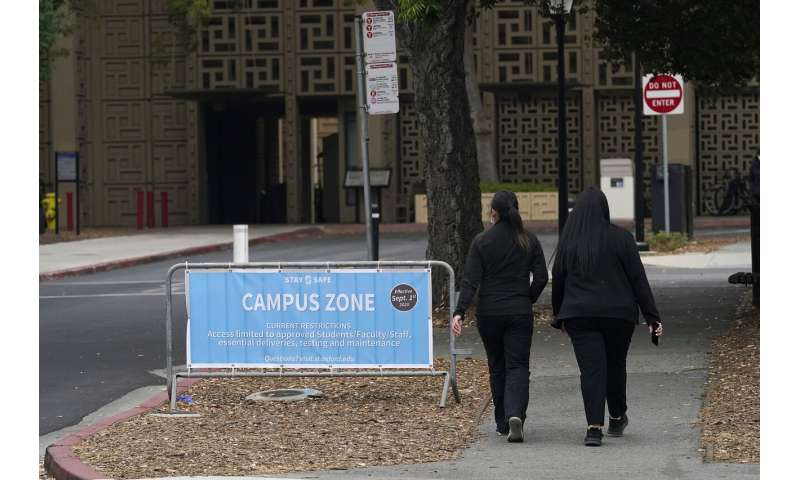 Colleges using COVID dorms, quarantines to keep virus at bay