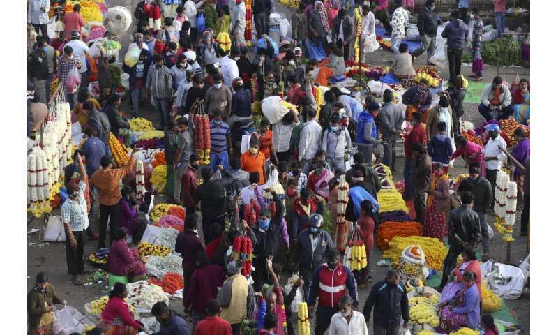 تعداد کل موارد ویروس کرونا در هند از 9 میلیون مورد عبور می کند