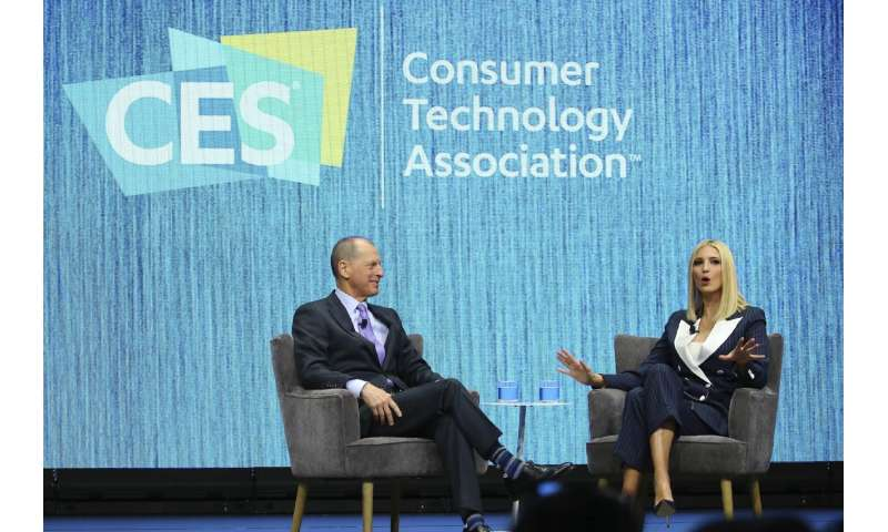 Invitation to Ivanka Trump draws backlash at big tech show