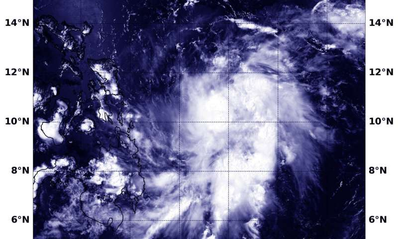 NASA sees Tropical Storm Vongfong form and threaten the Philippines