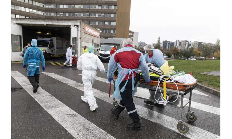 Signs of hope in Germany, France but virus strains hospitals
