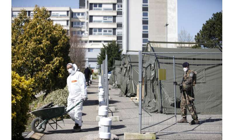 Solidarity: Foreign hospitals help French virus hotspot cope