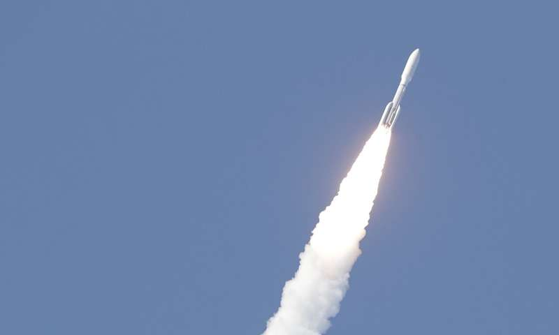 Space Force launches its first mission with virus precautions