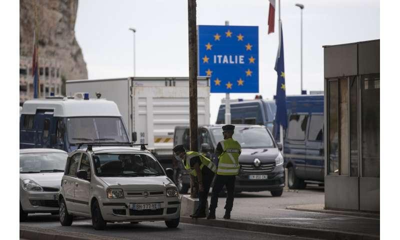 Virus-linked border moves raise fears on free travel in EU