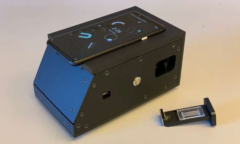 Researchers adapt cell phone camera for SARS-CoV-2 detection