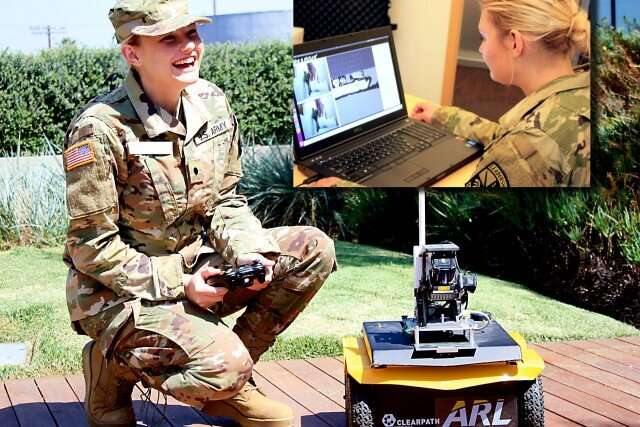 Army research enables conversational AI between soldiers, robot