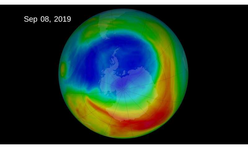 International ozone treaty stops changes in Southern Hemisphere winds
