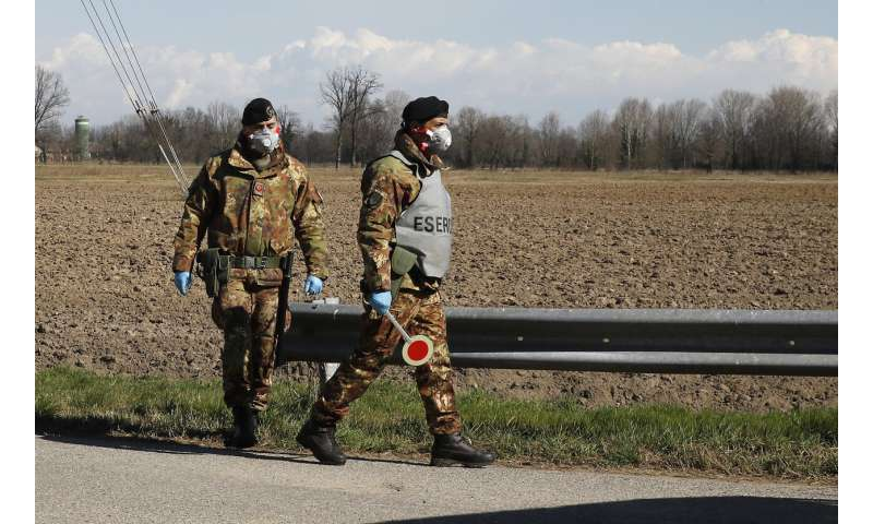 Italy seeks to calm fears in Europe as cases, deaths rise