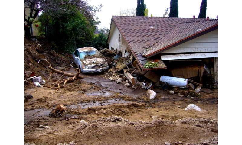Wildfires can cause dangerous debris flows