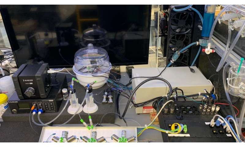 Researchers design intelligent microsystem for faster, more sustainable industrial chemistry