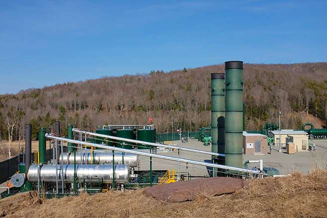 Study reveals how to improve natural gas production in shale