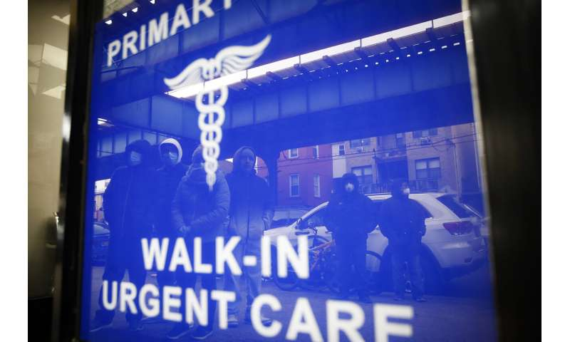 COVID-19 infections rise in New York with peak weeks away