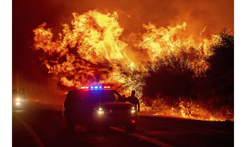Lightning storm, easterly wind: How the wildfires got so bad