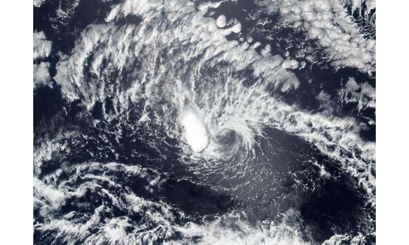NASA-NOAA satellite animation shows the end of Tropical Cyclone Boris