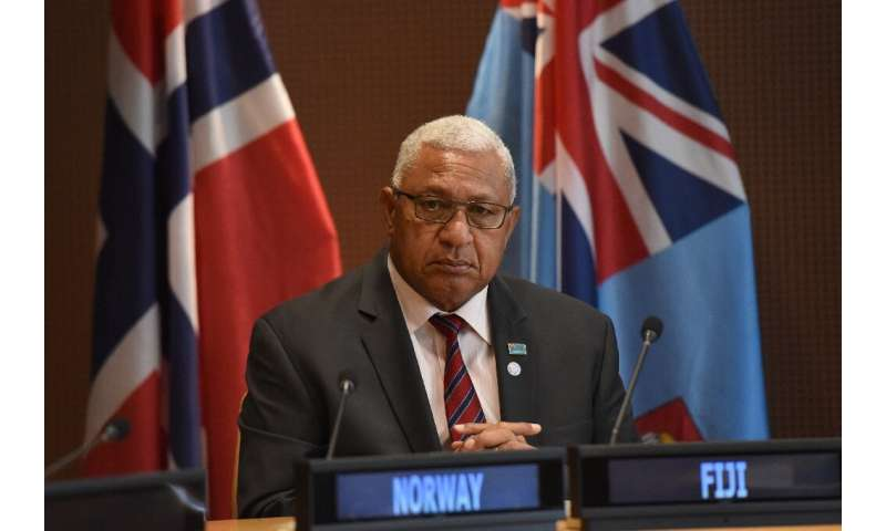 Prime Minister Frank Bainimarama said he hoped the bubble plan would 'allow Aussies and Kiwis to once again enjoy the best of Fi