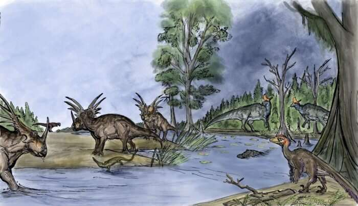 Researchers offer glimpse into dinosaur ecosystems