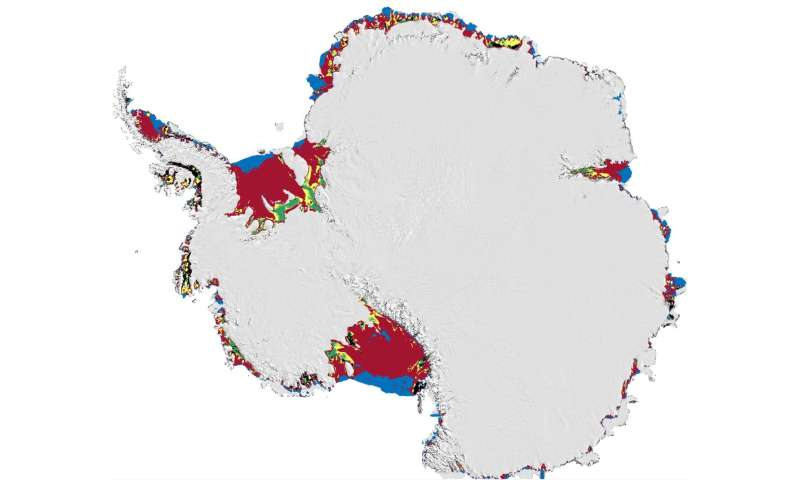Antarctic ice shelves vulnerable to sudden meltwater-driven fracturing, says study