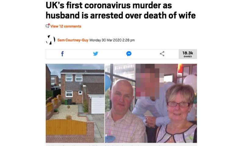 'Coronavirus murders': media narrative about domestic abuse during lockdown is wrong and harmful