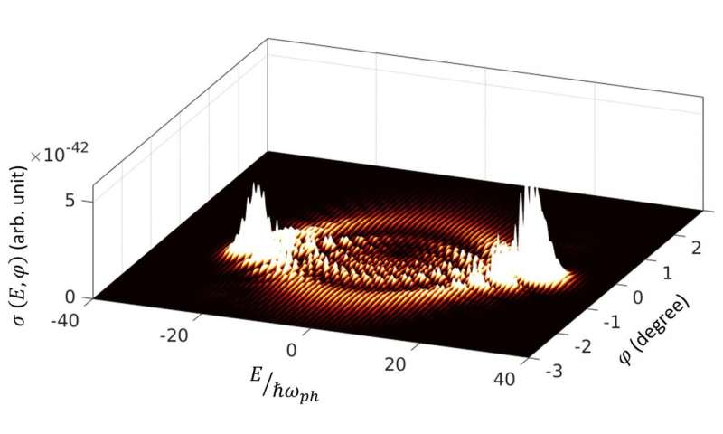 Demonstrating the dynamics of electron-light interaction originating from first principle