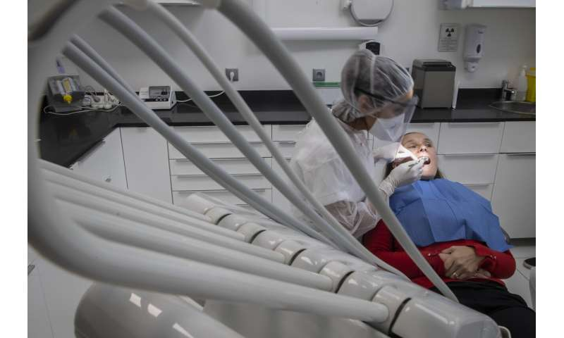 Dentists re-open in France after two-month lockdown