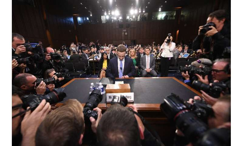 Facebook CEO Mark Zuckerberg has been in the hotseat before, facing questioning by lawmakers in 2018 over a data hijacking scand