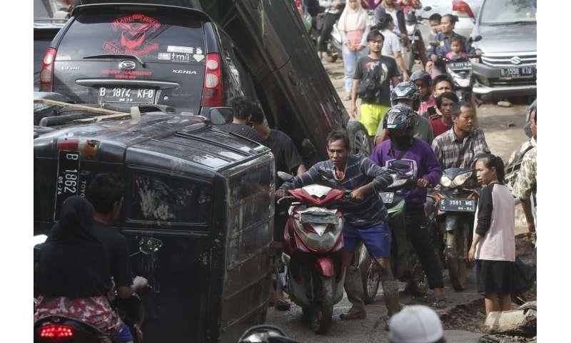 Indonesia capital floods leave 43 dead, 397,000 displaced