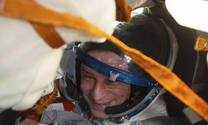 ISS crew lands in Kazakhstan after more than 200 days