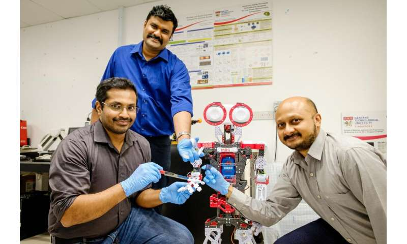 NTU Singapore scientists develop 'mini-brains' to help robots recognize pain and to self-repair