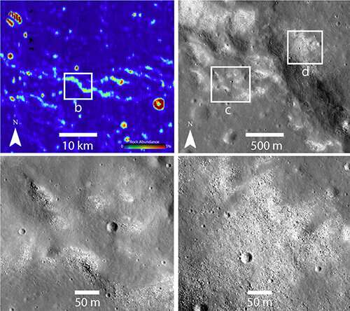 Research reveals possibly active tectonic system on the moon