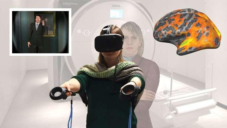 Virtual reality makes empathy easier