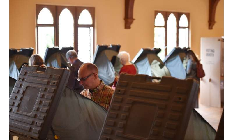 "A 2018 study recommended that electronic voting machines use ""human-readable"" ballots which can be audited"