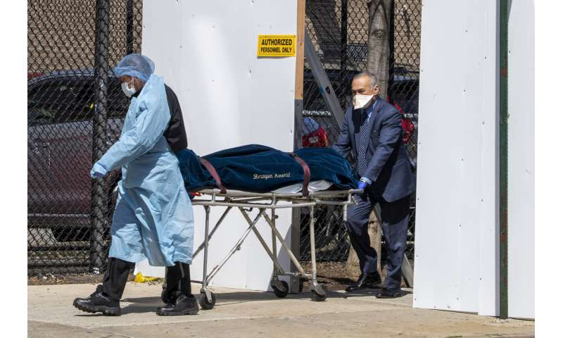 `A battlefield behind your home': Deaths mount in New York
