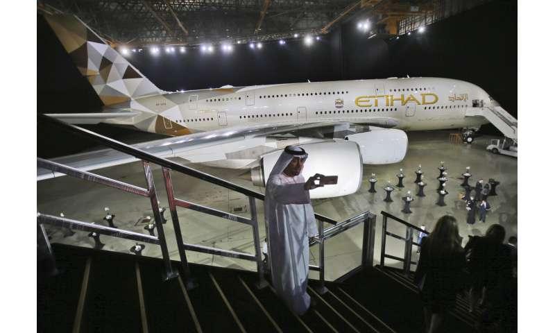 Abu Dhabi's Etihad Airways posts $758M in half-year losses