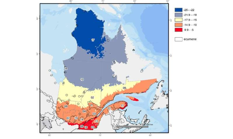 A cold-health watch and warning system for cold waves in Quebec