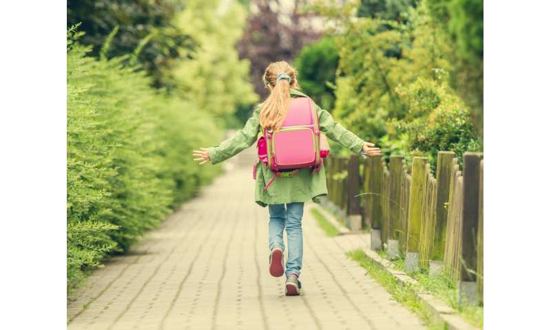 Active commuting could make children's return to school better for their health and the planet