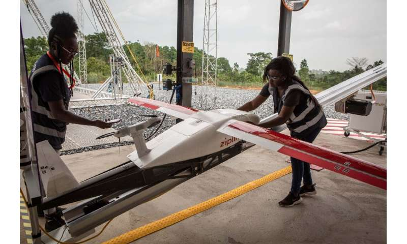 A drone company delivering of medical supplies in Ghana has started delivering coronavirus tests to hard-to-reach rural areas