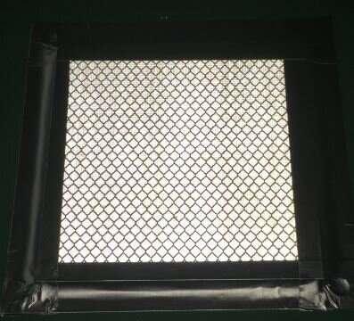 Advanced facade material for urban heat island mitigation